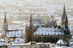 Aachen in wintertime (photo: Andreas Hermann/ats)