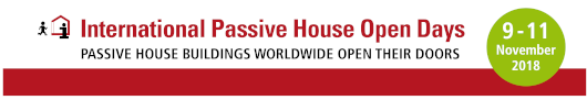International Passive House Open Days 2018