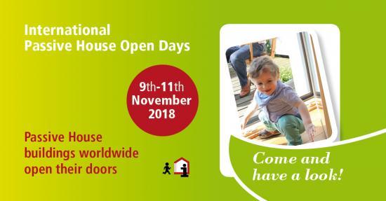 Αποτέλεσμα εικόνας για passive house open days