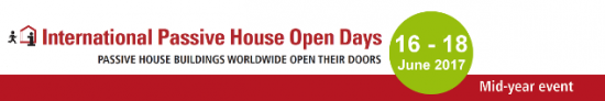 Mid-year International Passive House Open Days 2017
